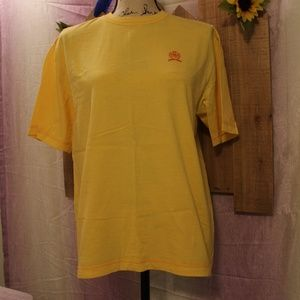 Tommy Hilfiger Ladies Sunny Yellow S/S Tee Shirt